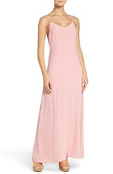 Nsr Women's Maxi Dress Dusty Rose