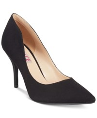 Mojo Moxy Dolce By Tammy Pointed Toe Pumps Women's Shoes Black Suede