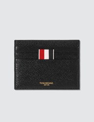 Thom Browne Double Sided Card Holder Black