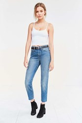 Levi's Wedgie High Rise Jean Coyote Desert Rinsed Denim