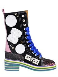 Maison Martin Margiela 50Mm Printed Canvas Sneakers