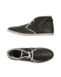 Le Crown Footwear Low Tops And Trainers Men Military Green