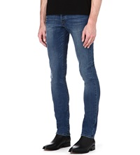 The Kooples Slim Fit Skinny Jeans Blue