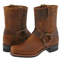 Frye Harness 8R Dark Brown Old Town Men's Pull On Boots