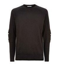Helmut Lang Knit Longline Jumper Male Black
