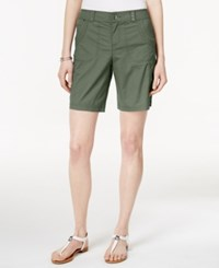 Styleandco. Style And Co. Studded Pocket Shorts Only At Macy's Olive Spring