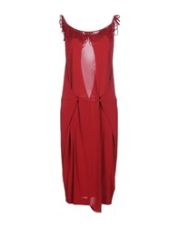 John Galliano Dresses Knee Length Dresses Women