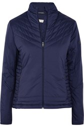Kjus Fiberlight Quilted Ski Jacket Navy