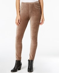 Style And Co Corduroy Leggings Created For Macy's Willow Bark