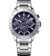 Tommy Hilfiger 1791228 Stainless Steel Watch Blue