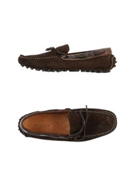 Selected Homme Moccasins Dark Blue