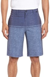 Travis Mathew Peale Hybrid Shorts Heather Allure