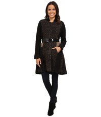 Nic Zoe Textured Twirl Coat Multi Women's Coat