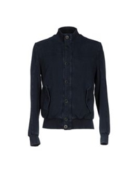 Siviglia Denim Jackets Dark Blue