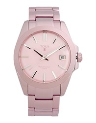 Tous Timepieces Wrist Watches Women Pink
