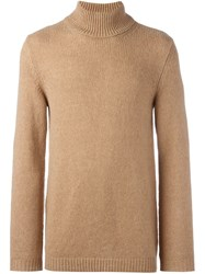 Roberto Collina Turtle Neck Sweater Nude Neutrals