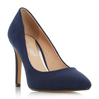 Head Over Heels Alice Pointed Court Shoes Navy