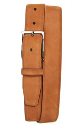Nordstrom Big And Tall Men's Shop Dayton Leather Belt Cognac