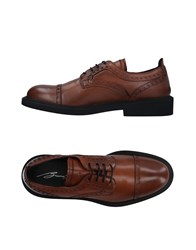 Bruno Bordese Lace Up Shoes Brown