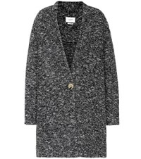 Etoile Isabel Marant Osbert Cotton And Wool Blend Coat Grey