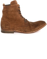 Hudson Swathmore Camel Suede Boots