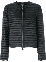 Save The Duck Round Neck Padded Jacket Black