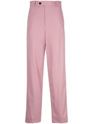 Ambush High Waisted Trousers Pink