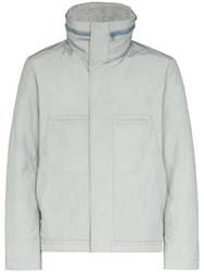Yves Salomon Zip Front Puffer Jacket 60