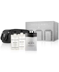 Bulgari Bvlgari 4 Pc. Man Extreme Gift Set No Color