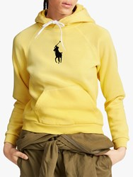 Ralph Lauren Polo Logo Fleeceback Hoodie Fall Yellow