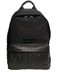 Mcq By Alexander Mcqueen Nylon And Leather Backpack