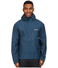 Marmot Minimalist Jacket Denim Men's Coat Blue
