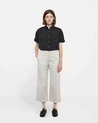 La Garconne X Save Khaki Crop Chino Pant