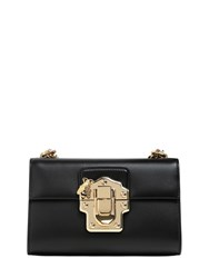 Dolce And Gabbana Small Lucia Leather Shoulder Bag