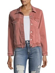 Amo Cotton Poplin Jacket Canyon Rose