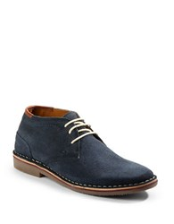 Kenneth Cole Reaction Desert Suede Chukka Boots Navy