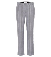 Dorothee Schumacher Sophisticated Punk Checked Pants Black