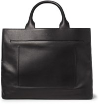 Berluti Cabas Ego Leather Tote Bag Black