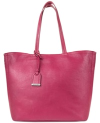 Kenneth Cole Reaction Clean Slate Medium Shopper Berry Stain
