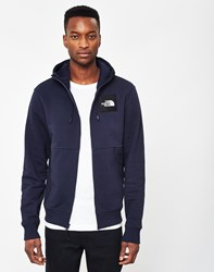 The North Face Black Label Box Logo Hoodie Navy