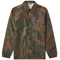 Carhartt Script Coach Jacket Green