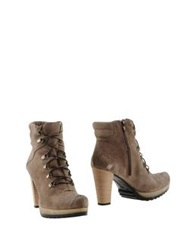 Love Ankle Boots Dark Brown