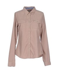Tommy Hilfiger Denim Shirts Shirts Women Sand