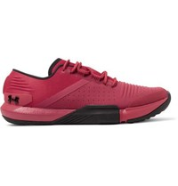 Under Armour Tribase Reign Canvas And Ripstop Sneakers Red