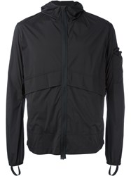 Satisfy Packable Zip Front Windbreaker Black