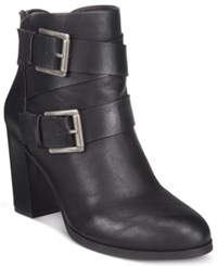Styleandco. Style Co. Royy Block Heel Booties Only At Macy's Women's Shoes Black