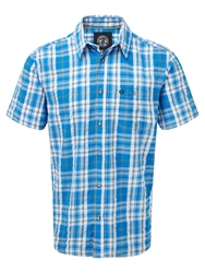 Tog 24 Avon Ii Check Short Sleeve Shirt Blue