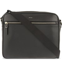 Paul Smith City Leather Cross Body Bag Black