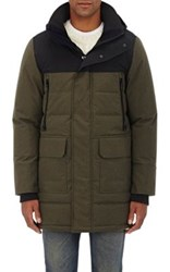 Canada Goose Men's Balmoral Parka Black Label Green