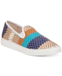 Vince Camuto Becker Slip On Sneakers Women's Shoes Multi Picket Fence